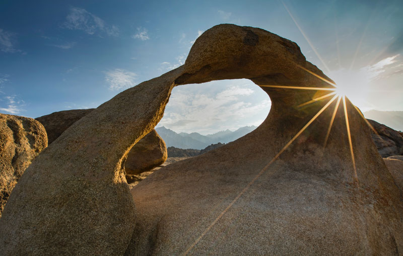 Mobius Arch near Lone Pine