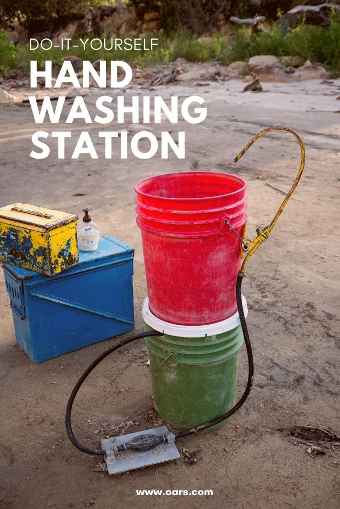 How to Make an Easy and Affordable Hand Washing Station