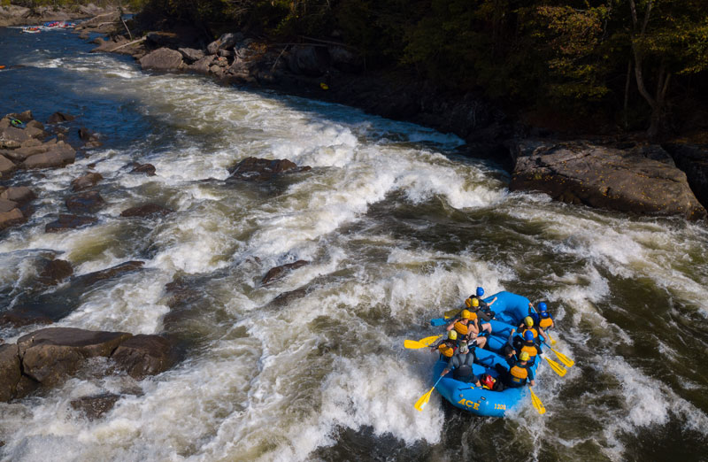 Gauley River Rafting - ACE Adventure Resort