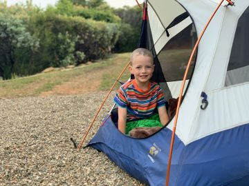 How to Have an Unforgettable Backyard Campout with Kids