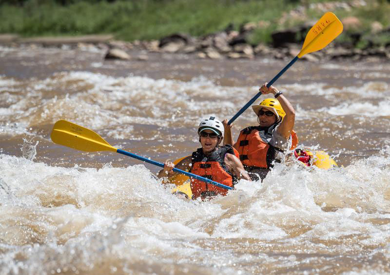 Utah whitewater rafting