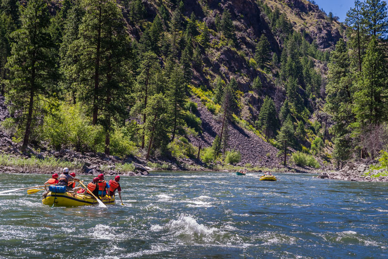 Best Adventures from Boise: Main Salmon River rafting