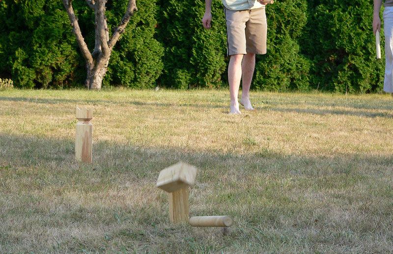 Kubb viking chess