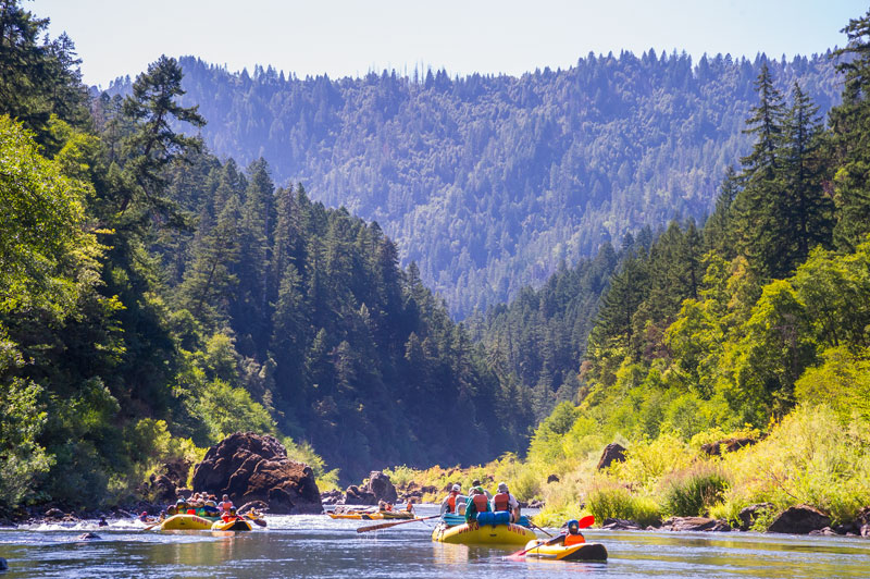 Rogue River rafting trip with OARS