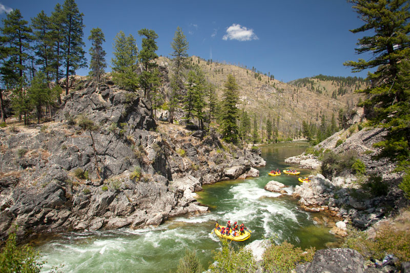 Best States for Whitewater Rafting: Idaho