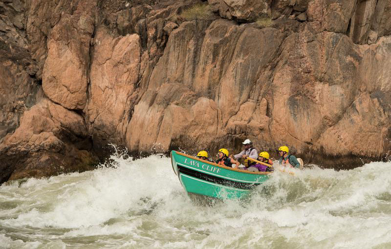 Grand Canyon dory trip with OARS