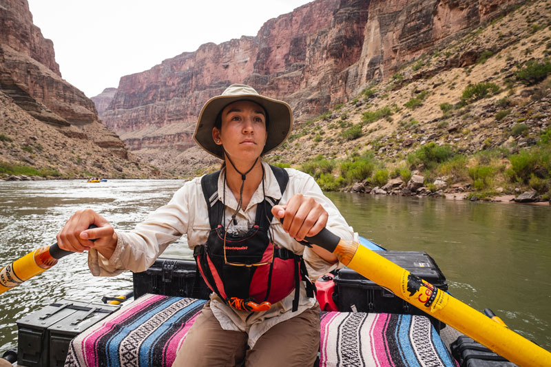 Powell 150 trip - Amorina Lee-Martinez, a PhD candidate in Environmental Studies at the University of Colorado