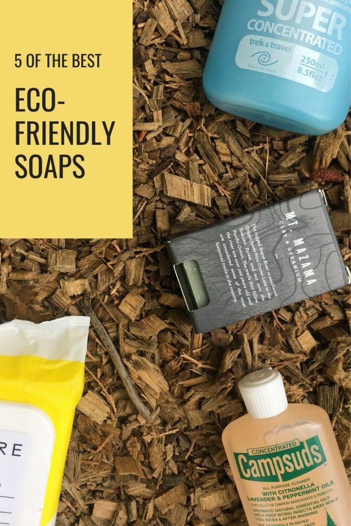 The best biodegradable and eco-friendly soaps for your next outdoor adventure