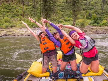 How to Tame Your Hair on River Trips