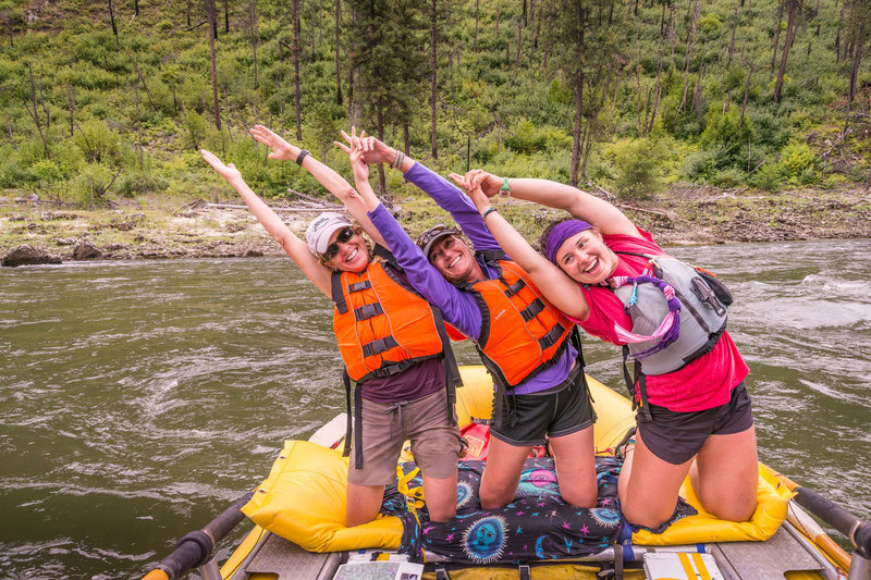 How to Tame Your Hair on Rafting Trips