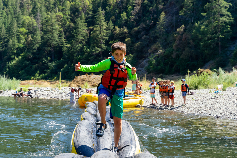 Family whitewater rafting trips