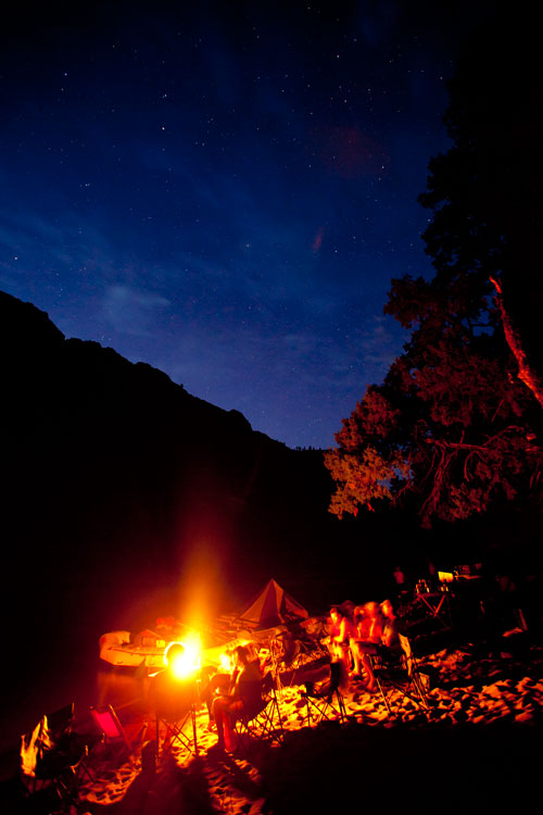 Camping on the Middle Fork of the Salmon River
