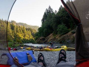 Social but Distanced: Rogue River Rafting Trip in the COVID Era