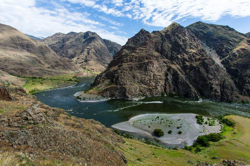 Snake River through Hells Canyon, Idaho