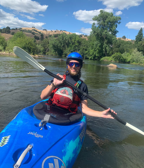 OARS Team | Collin Page | Professional River Guide