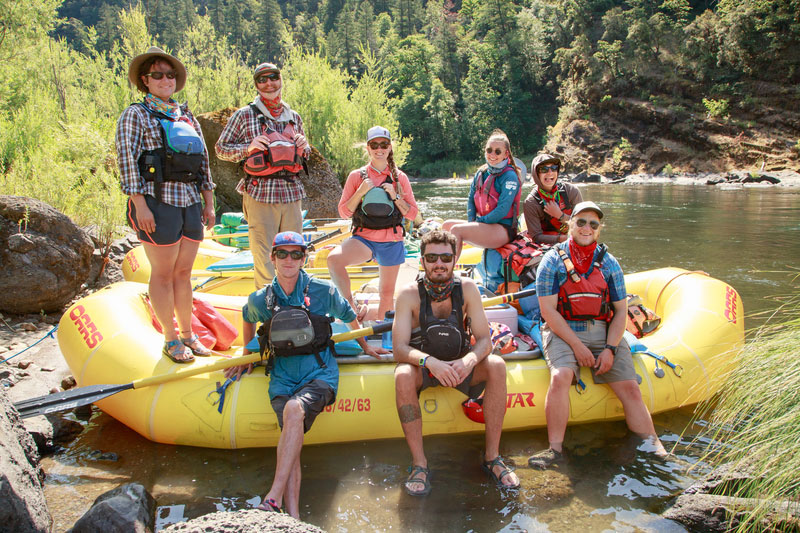 Reflections on guiding rafting trips during a pandemic