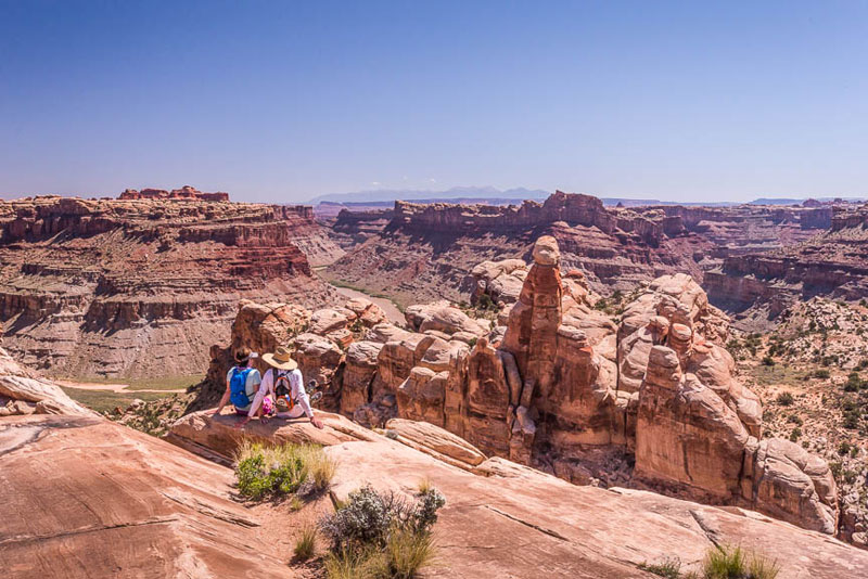 The Colorado River from Dolls House - Canyonlands National Park