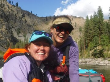 Sister Time at its Best on Idaho's Main Salmon River