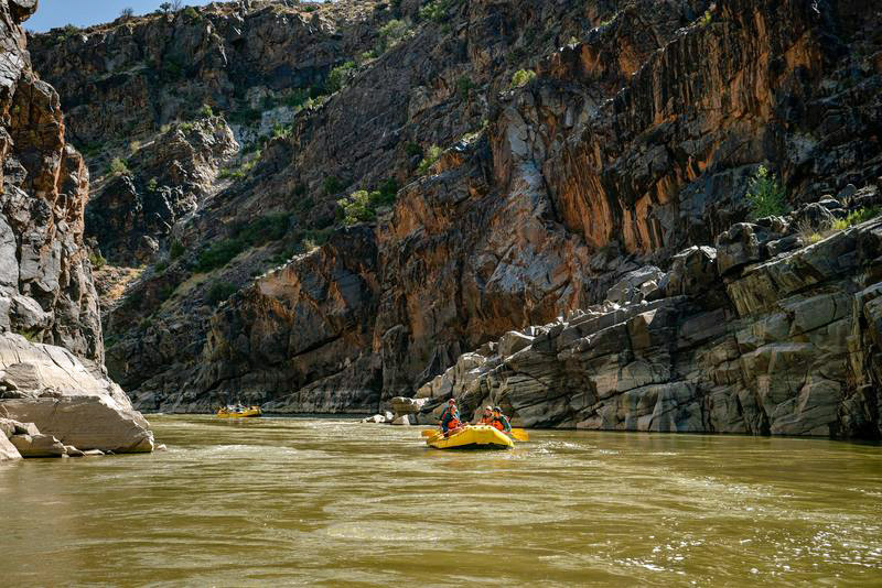 Westwater Canyon rafting near Moab