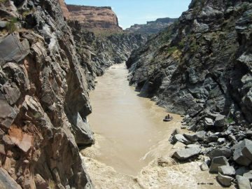 Skull Rapid in Westwater Canyon