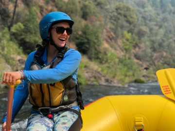 OARS American River rafting guide Dana Dickinson