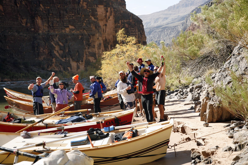 Tequila Beach in Grand Canyon