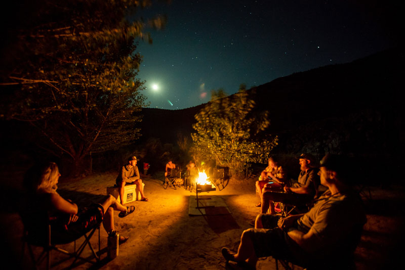Camping along the Colorado River Westwater Canyon