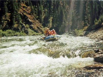 Rapid Musings: Velvet Falls on Idaho's Middle Fork Salmon
