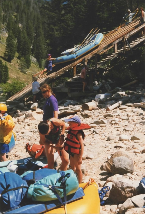 Idaho's Middle Fork of the Salmon Boat Ramp