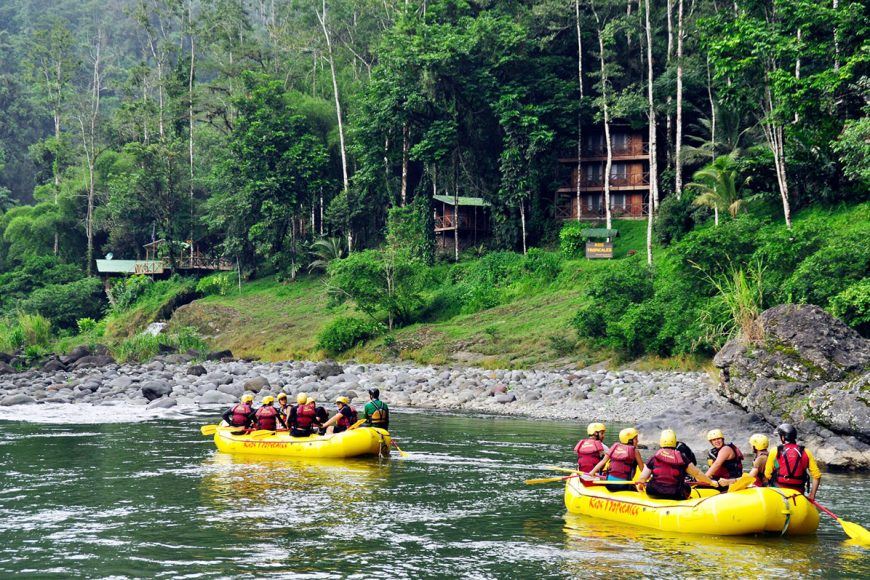 Pacuare River rafting in Costa Rica