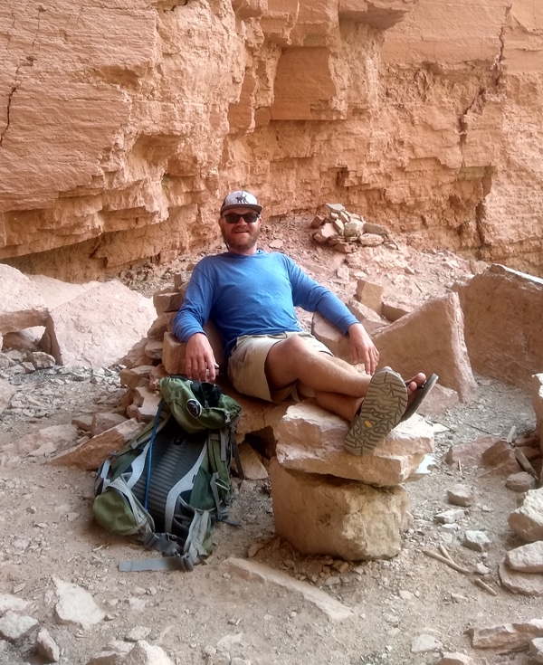 Max Andariese   OARS Grand Canyon guide