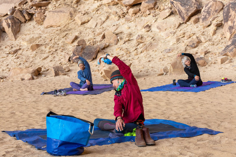 Yampa River rafting and yoga retreat with OARS