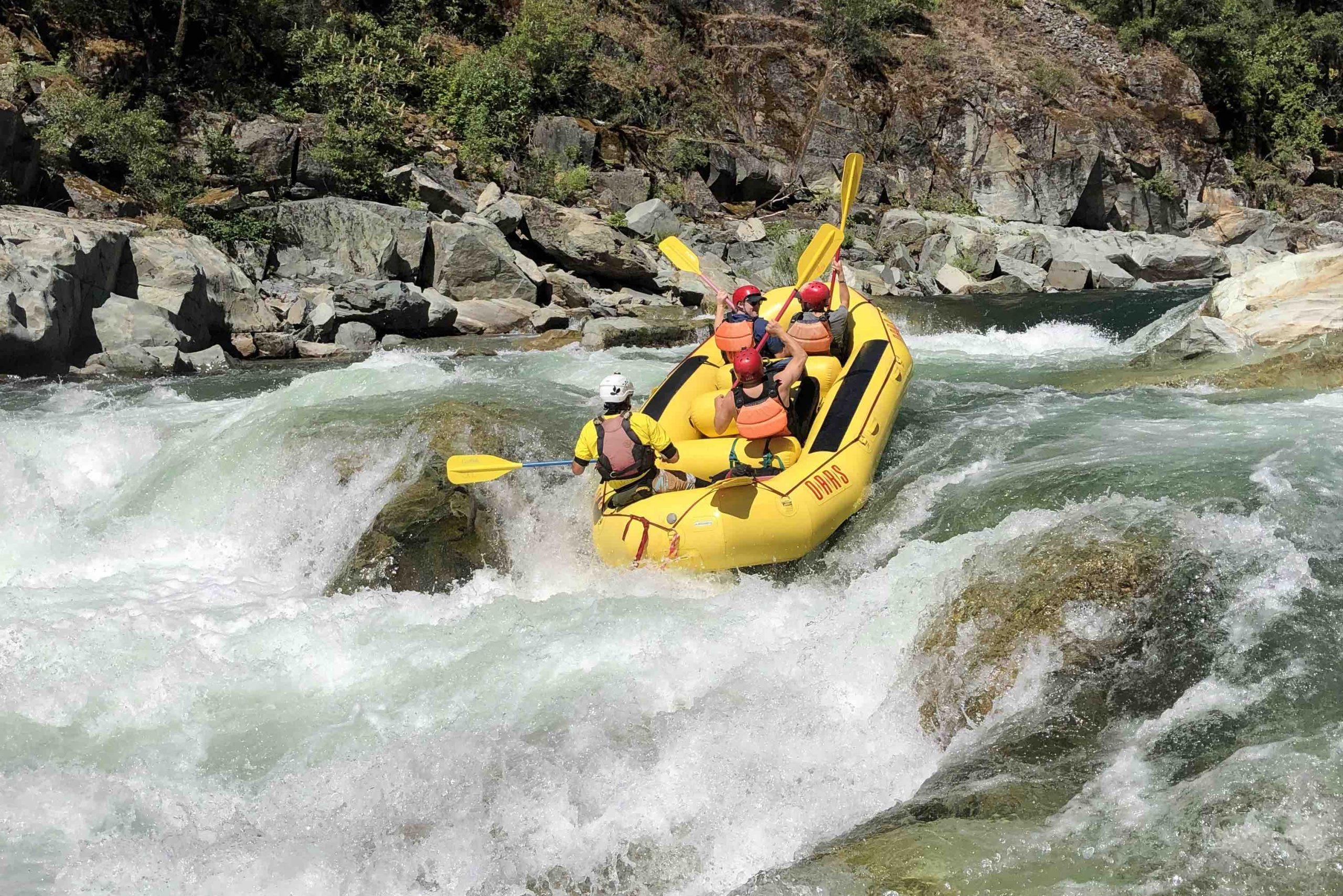 Staircase Rapid: North Fork of the American River