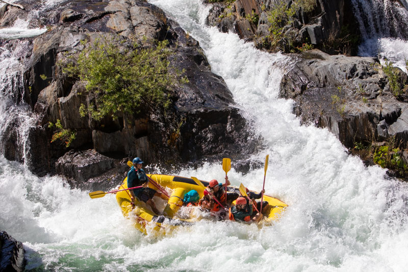 Best Rapids on the American River: Tunnel Chute