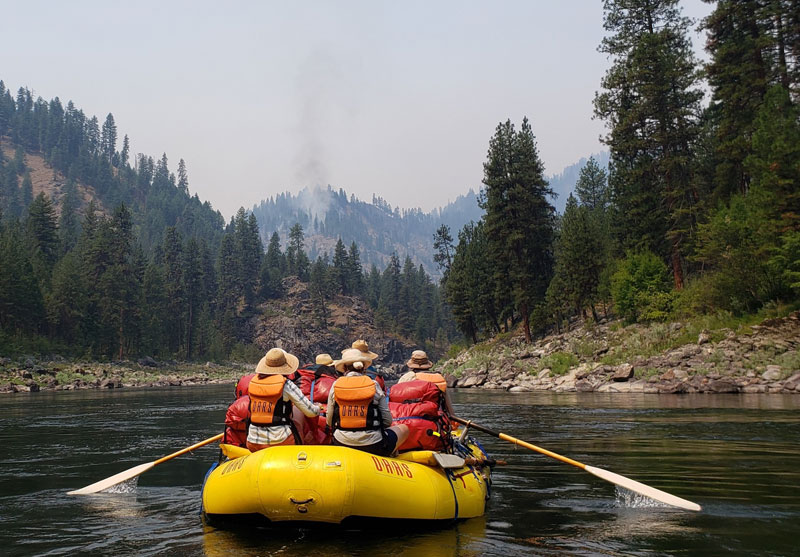 Wildfire on the Salmon: Rafting through the Dixie-Jumbo Complex
